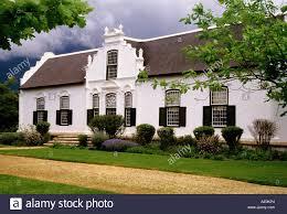 boschedal wine estate manor house in cape dutch architectural