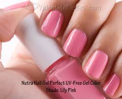 valentine kisses nutra nail gel perfect uv free gel color in lily