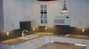 Glass Kitchen Backsplashes 3x6 Lunar Gray Medium Clear Glass Kitchen Backsplash New Jersey