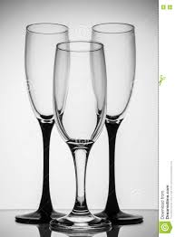 champagne silhouette silhouette champagne glasses black and white stock photo image