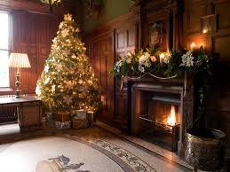 christmas tree brown christmas lights decoration