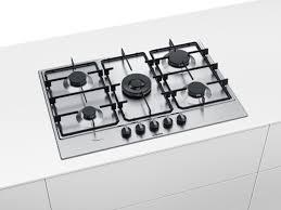 piano cottura bosh cottura bosch ad incasso in acciaio inox modello pcq7a5b80