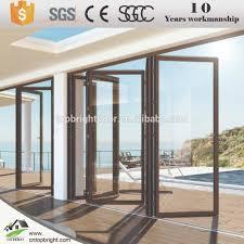 frameless glass stacking doors foldable glass door foldable glass door suppliers and