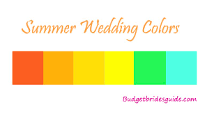 summer colors summer wedding colors and ideas budget brides guide a wedding blog