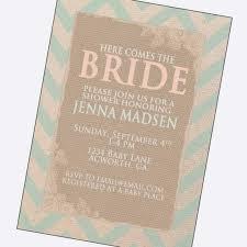 vintage bridal shower invitations bride letters country wedding