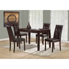 contemporary rectangular dining table cappuccino dining tables