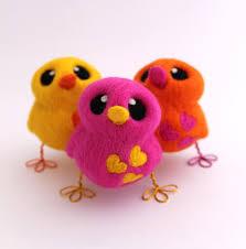 design your own needle felted love bird tweet