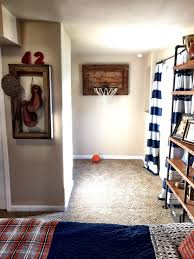 bedroom gorgeous basketball room decor for entrancing bedroom