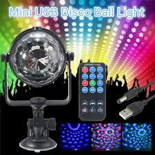 mini disco ball light mini rgb led stage light 3w remote controls light disco ball lights le