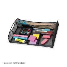 Safco Mesh Desk Organizer Onyx Mesh Drawer Organizer Safco Products