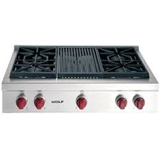 Cooktop With Griddle And Grill Kitchen Best Ge Monogram Gas Cooktop At Us Appliance Regarding
