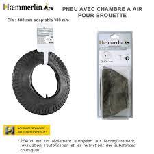 chambre à air brouette pneu chambre à air diam 400 mm pour brouette haemmerlin 309003201