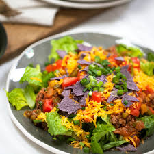 quick taco salad recipe myrecipes