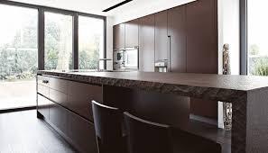 contemporary kitchen stone island lacquered villa