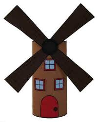windmill toilet paper roll craft