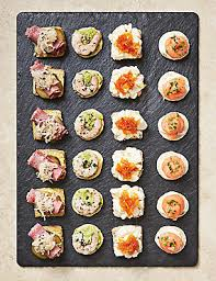 m and s canapes canapés canapé ideas dishes for m s