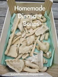 kitchen floor crafts homemade dinosaur bones