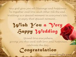 greetings for a wedding card wedding wishes for card lilbibby