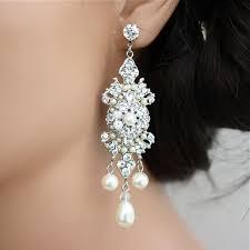 Vintage Pearl Chandelier Earrings 62 Best Vintage Wedding Jewelry Images On Pinterest Vintage