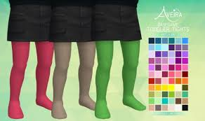 aveira sims 4 toddler tights recolor sims 4 downloads