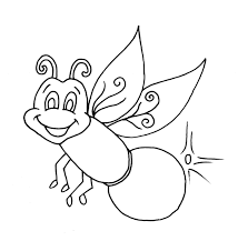 firefly coloring page funny coloring