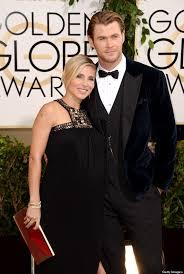 chris hemsworth pregnant elsa pataky attend golden globes huffpost
