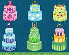 garden birthday cake clipart bbcpersian7 collections