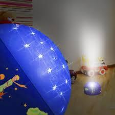 lumiere chambre bébé ciel étoilé le petit prince lumière de nuit projecteur ø120mm rgb