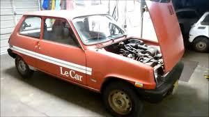renault car 1980 renault lecar hits the road youtube