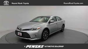 new toyota 2018 new toyota avalon xle premium at round rock toyota serving