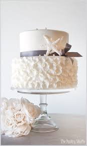 beachy wedding cakes chic wedding cake by the pastry studio daytona fl