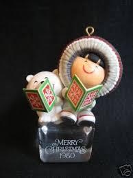 1980 frosty friends hallmark cool yule ornament eskimo 15998359