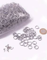 round wire rings images Rrz9 1 kg loose round chain mail rings and rivets id 9mm png