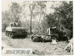 jeep tank military combat photographers u0027 jeep crushed by tank under fire from enemy