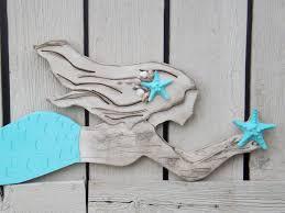 wooden mermaid wall decor reviravoltta