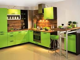 interior kitchen colors the design green color in the interior home interior design