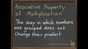 the associative property of multiplication 3 6 youtube