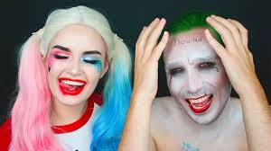 Joker Halloween Make Up Pastel Harley Quinn Joker Squad Costume Ashtoberfest