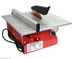 bench tile cutter 7 electric tile wet marble cutter saw bench top table ul ebay