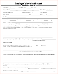 template incident report form 8 employee incident report sample model resumed employee incident report sample employee incident report sample letter png