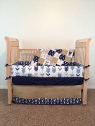 Custom Crib Bedding Sets Turquoise Deer Baby Bedding Deer Crib Bedding Baby Crib