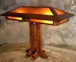 Arts And Crafts Desk Lamp Mission Style Desk Lamp Foter