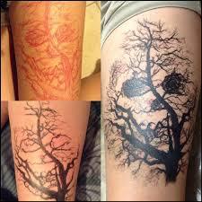 amazing dead tree tattoomagz