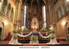 church altar decorations wedding decoration for small churvh wedding reception church