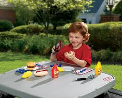 Backyard Barbeque Review Little Tikes Backyard Barbeque Grillin U0027 Goodies Youtube