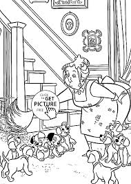 dalmatians coloring pages kids cleaning printable free