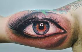 50 eye tattoos on arm