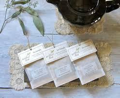 tea bag party favors tea sler handmade leaf tea bags choose 6 12 18