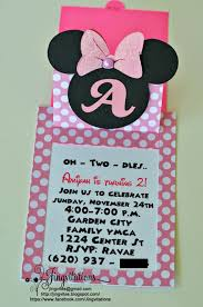 How To Make Minnie Mouse Invitation Cards Jingvitations Minnie Mouse