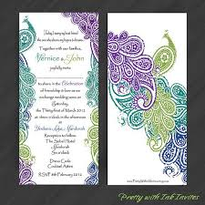 peacock wedding invitations peacock invites peacock wedding invitations peacock wedding